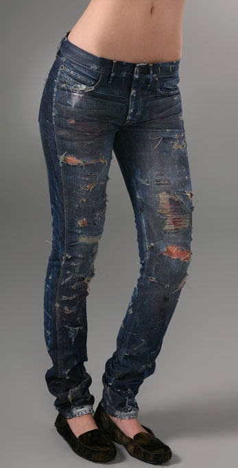 Skinny Jeans With Holes In Them Ye Jean