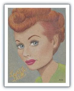 Jodi-Arias-original-artwork-Lucille-Ball