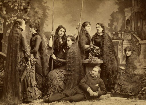 The Sutherland Sisters sepia
