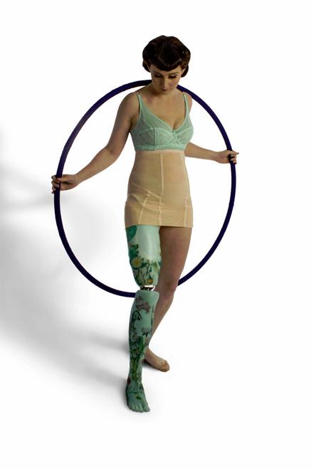 Kiera Roche - floral leg