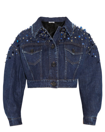 Miu Miu denim jacket 5325