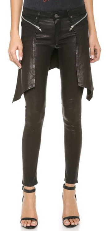 Leather Cobain Pants front