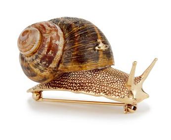 Viv Westwood snail broochimproved