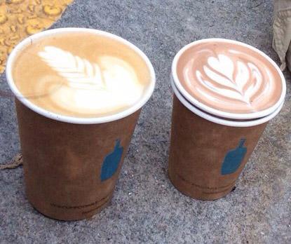swirly pretentious coffee