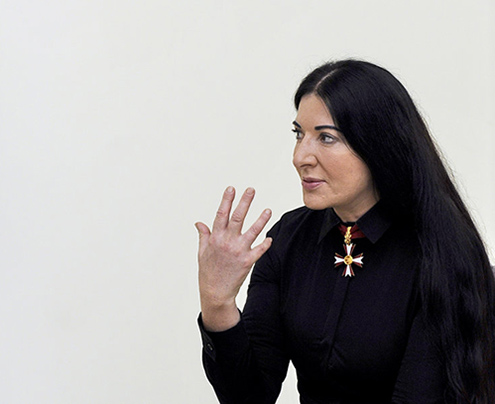 INTERVIEW: MARINA ABRAMOVIC