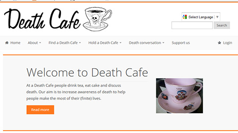 death cafe website