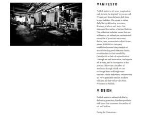 publish manifesto spelling