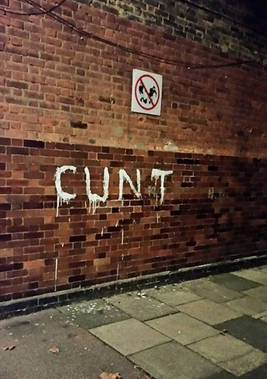 Cunt wall