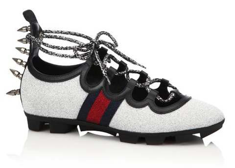 gucci spiked sneaker