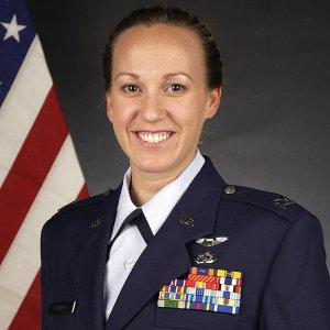 Major Mary Jennings Hegar